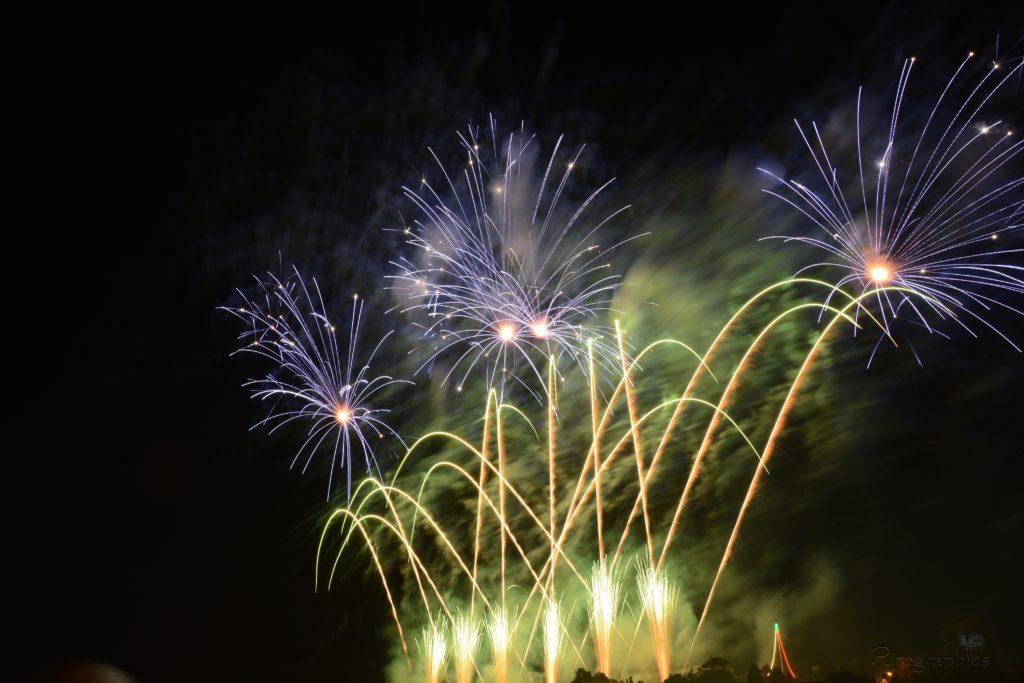 Feuerwerk synchron zu Ihrer Musik